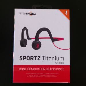 Ακουστικό Aftershokz Sportz Titanium Lava Red