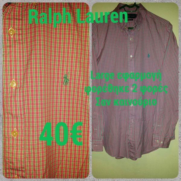 Ralph Lauren πουκάμισο ροζ και πράσινο - αγγελίες στο Αθήνα - Vendora.gr 79b47ae2fb5