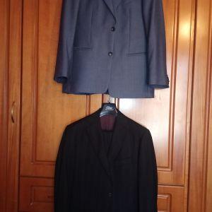 Κουστούμι σχεδόν καινούργιο μεσαίου μεγέθους για 65-70 κιλά και 1.70 ύψους