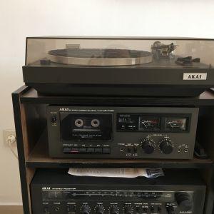 Πικαπ με ενισχυτή - κασετοφωνο και δύο ηχεία