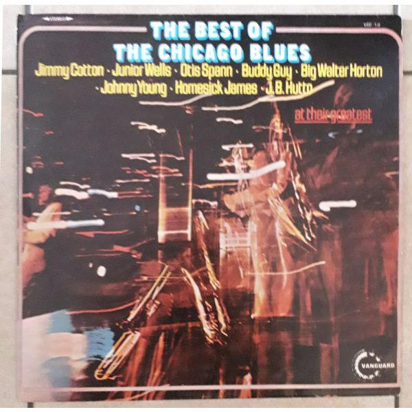 Various – The Best Of The Chicago Blues LP- diskos