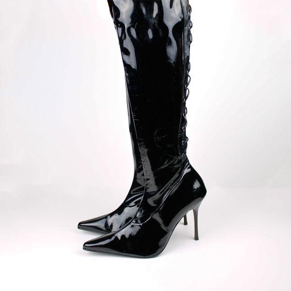 6e367d8a2b λευκές μαύρες ψηλές μπότες - € 25 - Vendora.gr