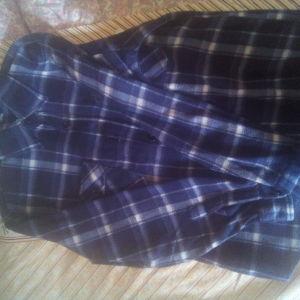 Ζακετα καρο μπλε πουκαμισω μαλινο 03f73e1d157