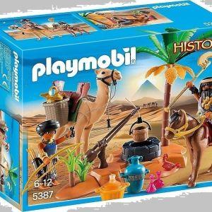 Playmobil Στρατόπεδο Τυμβωρύχων (5387)