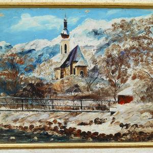 Έργο  ζωγραφικής  του  Ν. Καλογερόπουλου