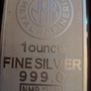 Μπάρα Ασήμι Σγραφισμένο με κωδικό, 999 pure silver