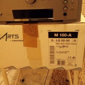 grundig fine arts amplifier 400 watt made in germany