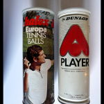 Vintage Tennis Cans Collection