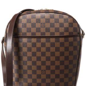 902593ef21 ΤΣΑΝΤΑ Louis Vuitton -Damier -Ebene -Canvas -Ipanema