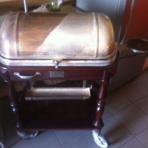 Christofle buffet trolley