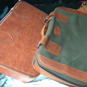 Βαλίτσες δερμάτινες παλιές