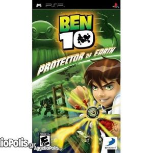 Ben 10 Protector of Earth PS2 Ben 10 - Protector