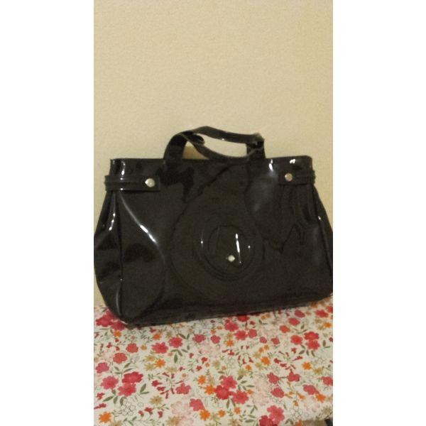 Περιγραφή. Armani τσάντα σκούρο γκρι λουστρίνι ... e2969723a1d