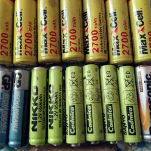 battery AA 800 maah 1700maah  epanafortizomenes