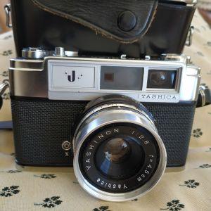 φωτογραφική μηχανή εύρους φακού 35 mm Yashica J εξοπλισμένη με 45 mm F2.8
