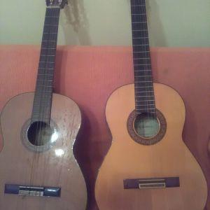 Δυο κιθαρες  κλασικες συλλεκτικες