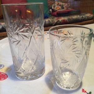 Κρυστάλλινα ποτηρια