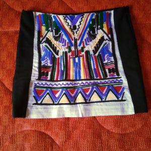 ZARA Μαυρη διαχρονική φούστα σε ιδιαίτερο σχέδιο (xl) - αγγελίες σε ... c3047ce4e3e