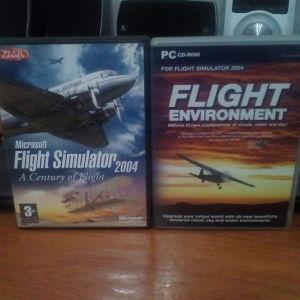 FLIGHT SIMULATOR 2004(MICROSOFT)+FLIGHT ENVIRONMENT
