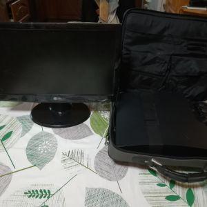 Ps3 konsola με Τσάντα μεταφοράς και οθόνη lg