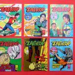 12 τευχη ΖΑΓΚΟΡ της δεκαετίας του '70.