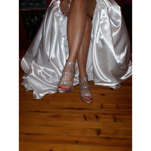 1049de56b29 Nυφικά παπούτσια - € 120 - Vendora.gr