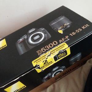 Nikon D5300 AF-P 18-55 Kit (DSLR)