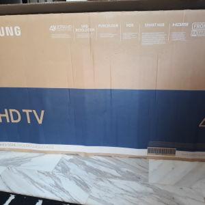 Samsung ue40mu6122 στο κουτί της