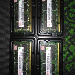 Μνήμες ram Laptop DDR2 800 MHz 2gb