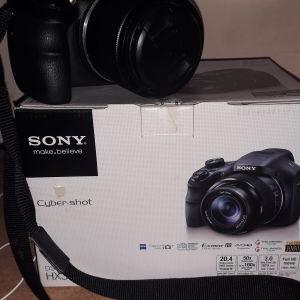 Φωτογραφική μηχανή sony 20.4 mega pixel ,50x optical zoom  3.0 extra fine LCD ,full HD movie
