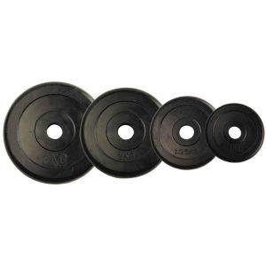 Δίσκος με επένδυση λάστιχο 5kg Φ28 Amila 44434 (2 τεμάχια)