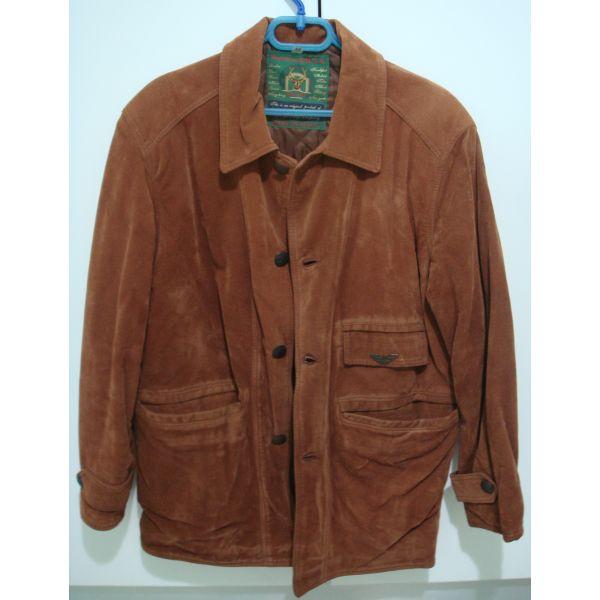 Παλτό suede b0cb724b971