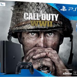Playstation 4 slim 1TB + Sony DualShock 4 Controller Jet Black+ΠΟΛΛΑ ΠΑΙΧΝΙΔΙΑ