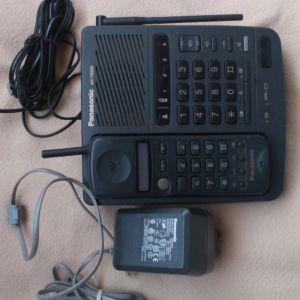 Βάση ασύρματου τηλεφώνου panasonic με ανοιχτή ακρόαση