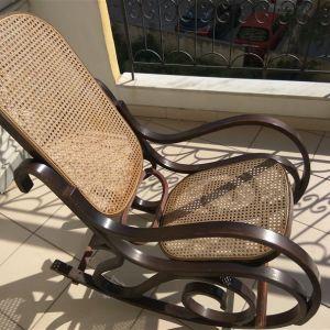 Koυνιστή πολυθρόνα με βιεννέζικη ψάθα