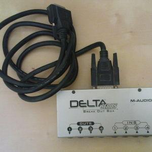 M Audio DELTA 44 Breakout Box