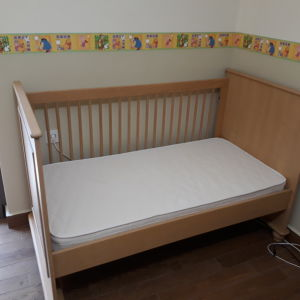 e40a14b8954 Πωλείται κρεβάτι-σιφονιέρα σε άριστη κατάσταση μάρκας Childwood (Lapin) με  στρώμα Dunlopillo.