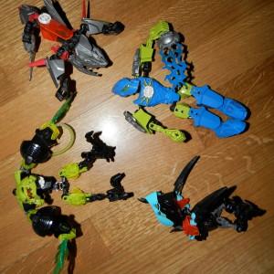 4 lego hero factory