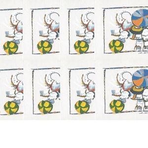 10 ΤΕΥΧΙΔΙΑ ΕΥΡΩΠΑ 2002 ΑΣΦΡΑΓΗΣΤΑ