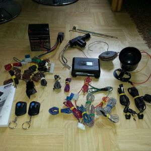 Waeco magic safe car alarm systems infrared antalagi
