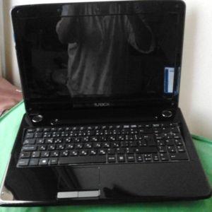 Laptop Turbo-X Model A15YA /Σχεδόν νέο/ με εγκατεστημένο Windows 10 Rro