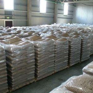 Houten pellet, hoogwaardige premium houtpellets