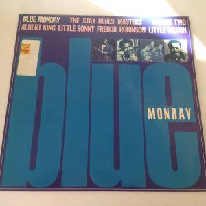"Blue Monday - The Stax Blue, Various (33 RPM -Size: 12"") Δίσκος Βινυλίου 1979"