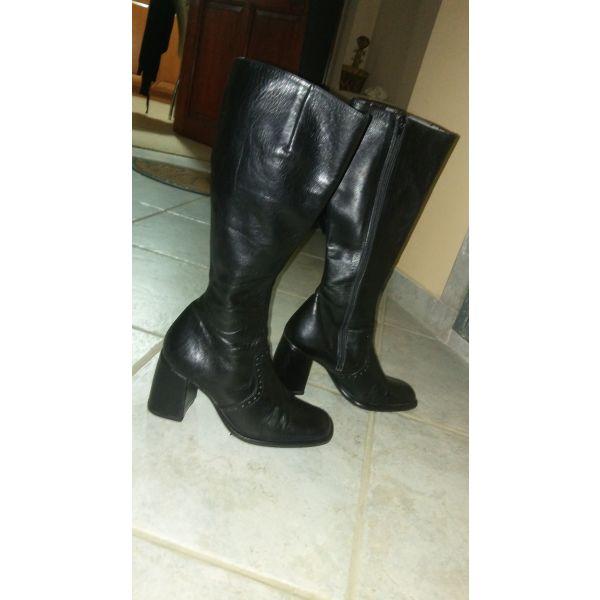 0704ae6ded Μπότες δερμάτινες Αnastazi Βournazos - € 35 - Vendora.gr