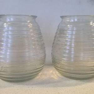 Γυάλινα βάζα ( 2 )