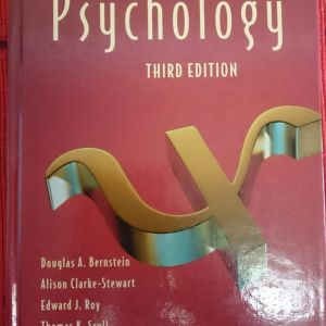 Psychology (Third Edition) Hardcover – 1994