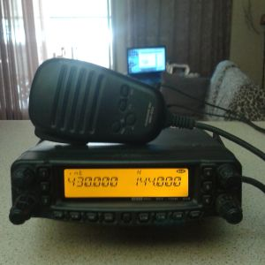 YAESU FT-8900R Dual Band VHF/UHF & Diamond Antenna X-300 (VHF/UHF)