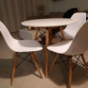 Τραπέζι κουζίνας σετ με 3 καρέκλες