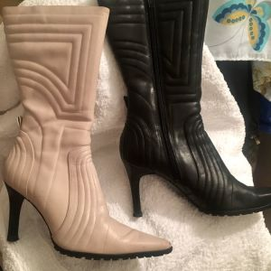 Μπότες Nine West δέρμα no 37