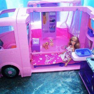 Τροχόσπιτο της Barbie